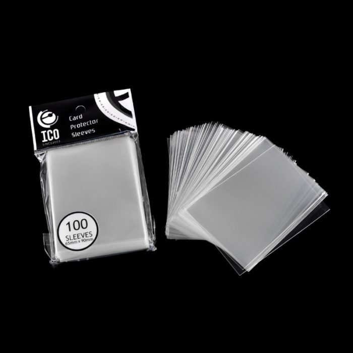 100 Pieces Transparent Card Sleeves