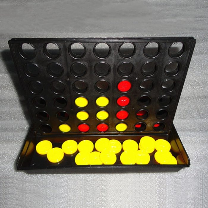 Connect 4 in a Line Board Game