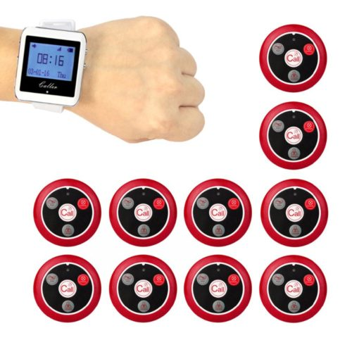 Wireless Calling Receiver Restaurant Pagers