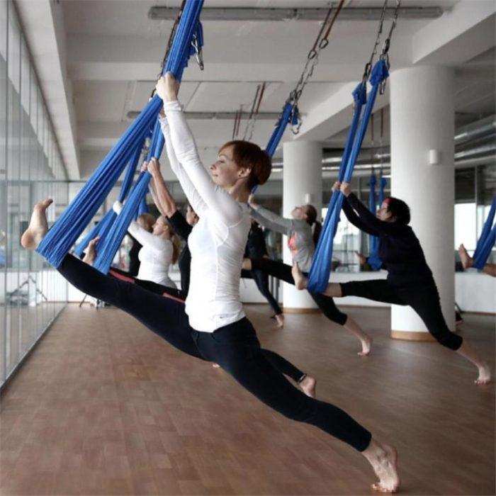 Elastic Aerial Yoga Hammock