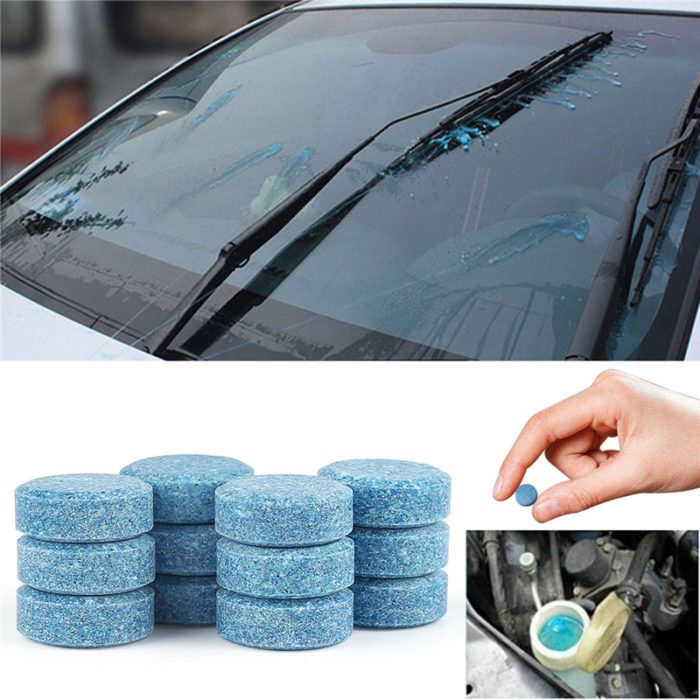 Solid Car Wiper Cleaner