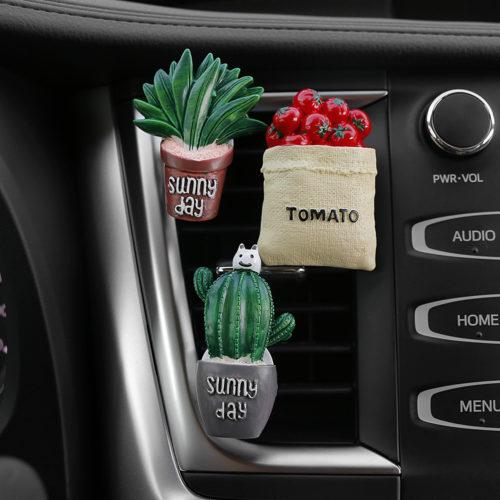 Cactus Car Vent Air Freshener