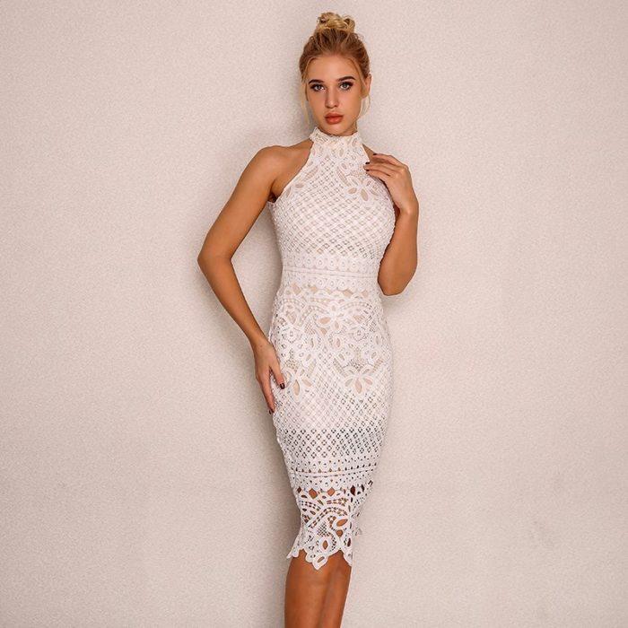 Classy Sleeveless Bodycon Dress