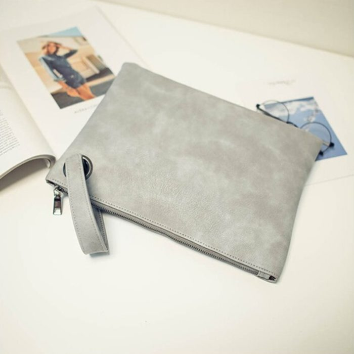 Clutch Bag Leather Envelope