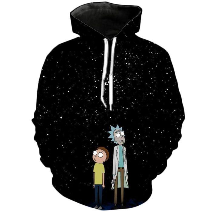 Hoodie Sweatshirt 3D Rick & Morty