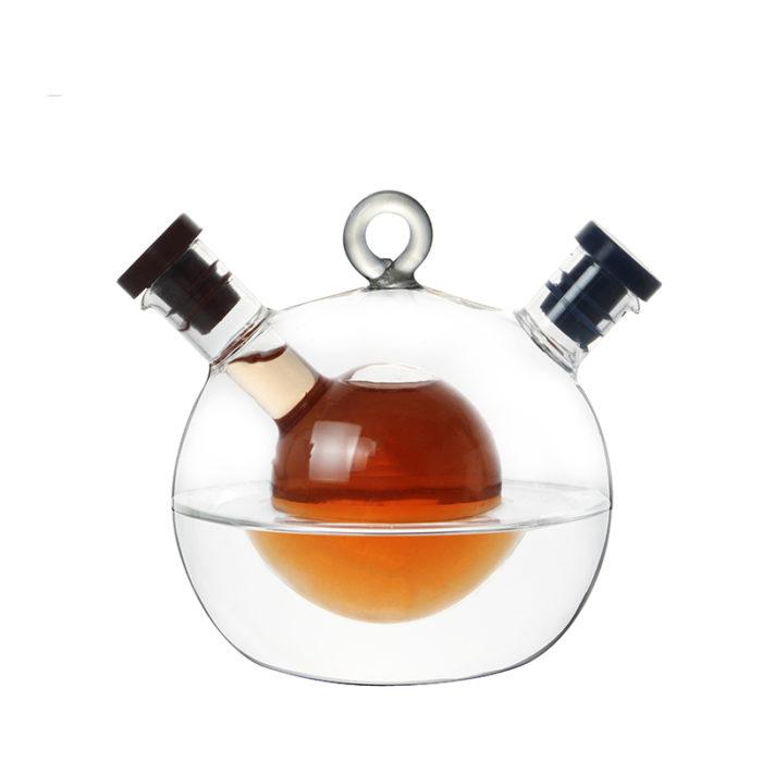 Oil Dispenser Dual Container Bottle