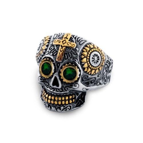 Skull Ring Dia De Los Muertos