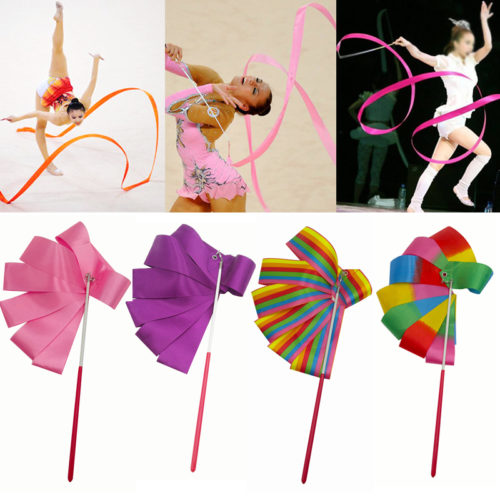 Colorful Dance Ribbon Gymnastics