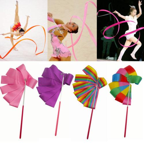 Colorful Dance Ribbon Gymnastics