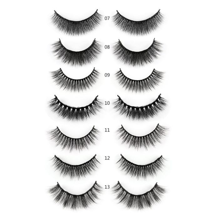 5 Pair 3D False Eyelashes