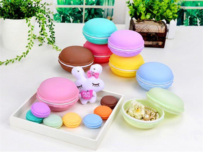 Portable Storage Cute Macarons Organizer