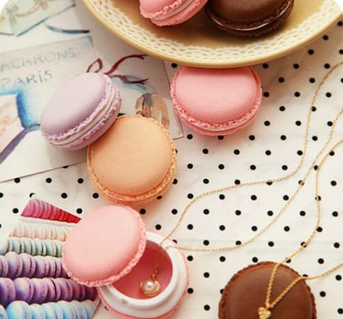 Portable Storage Cute Macarons Organizer
