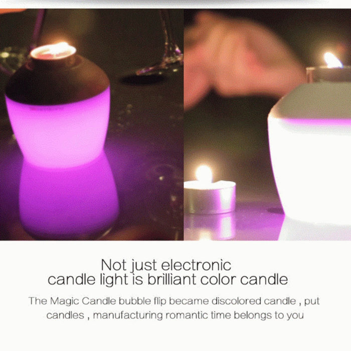 flameless candles Scented RGB