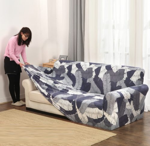Sofa covers printed designs