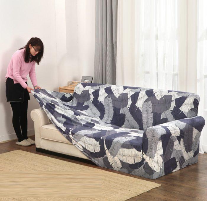 Sofa covers printed designs