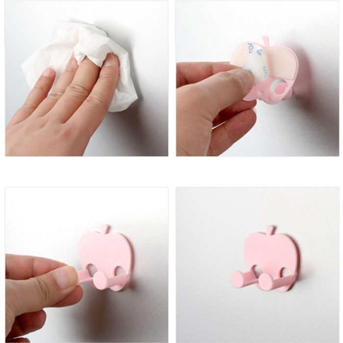 Plug Holder Sticky Wall Hooks