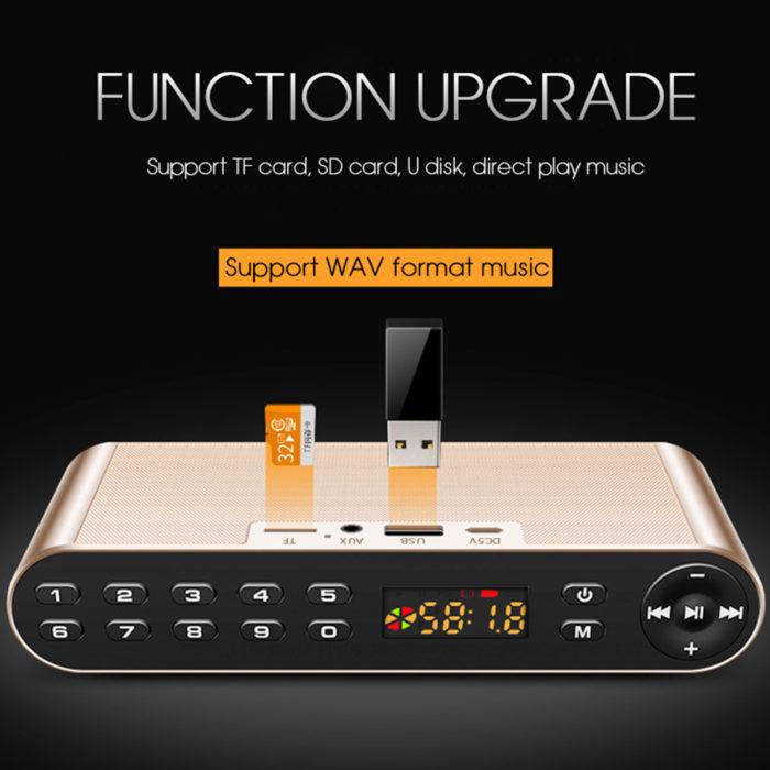Portable Slim Wireless Speakers