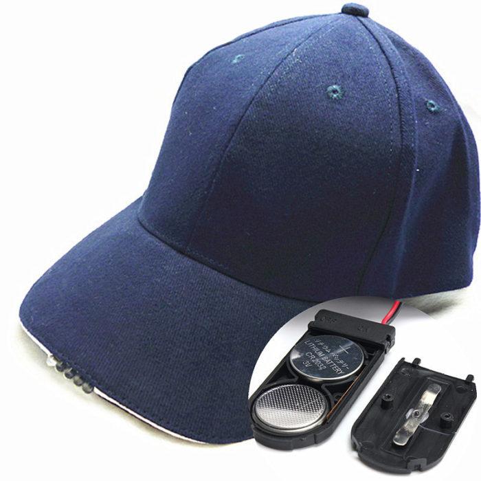 Outdoor LED Baseball Hat Light