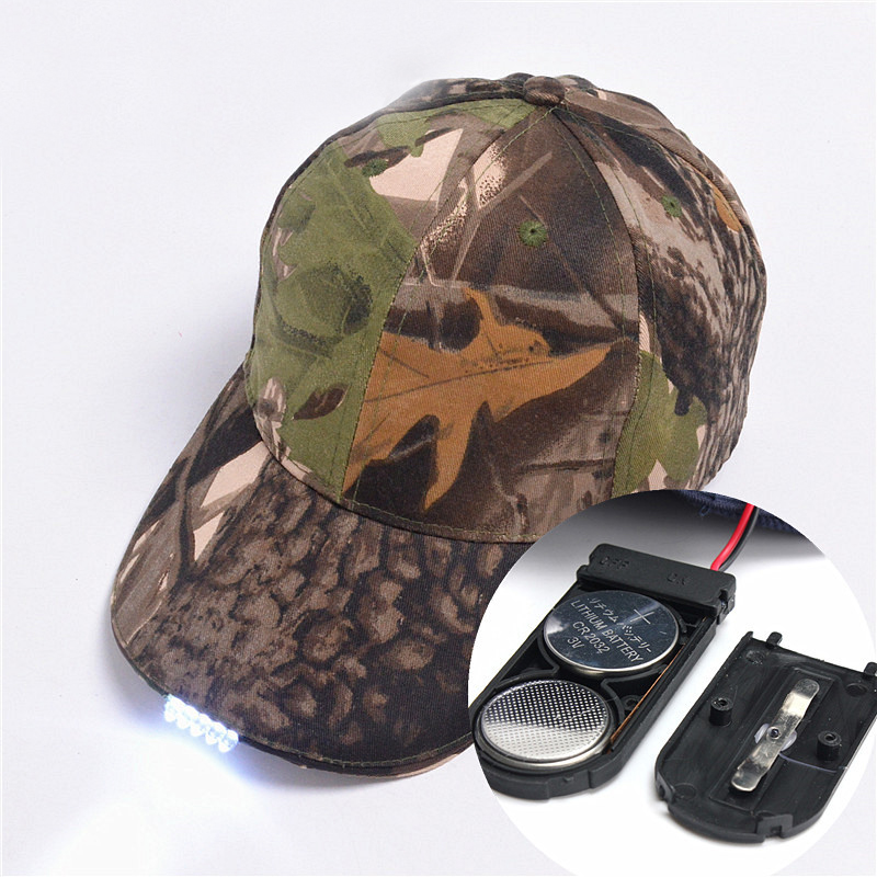 Outdoor LED Baseball Hat Light - Life Changing Products c1a319c5a11a