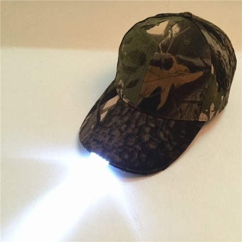 Outdoor LED Baseball Hat Light