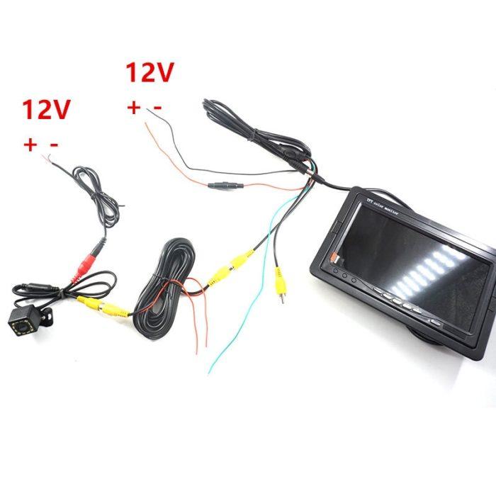 Backup Camera 7 Inch Display