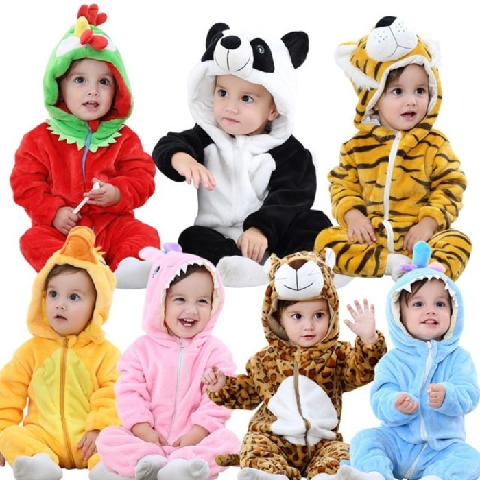 Baby Clothes Cute Animal Onesies
