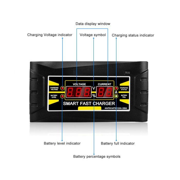 Car Battery Charger Auto 110V/220V