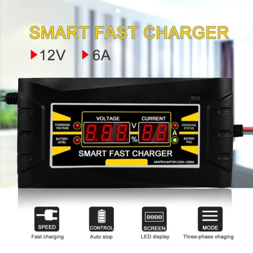 Car Battery Charger Auto 110V/220V