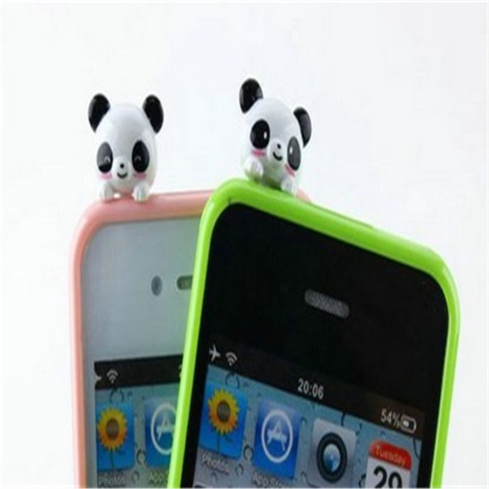 Panda Type Anti-Dust Cap Plugs