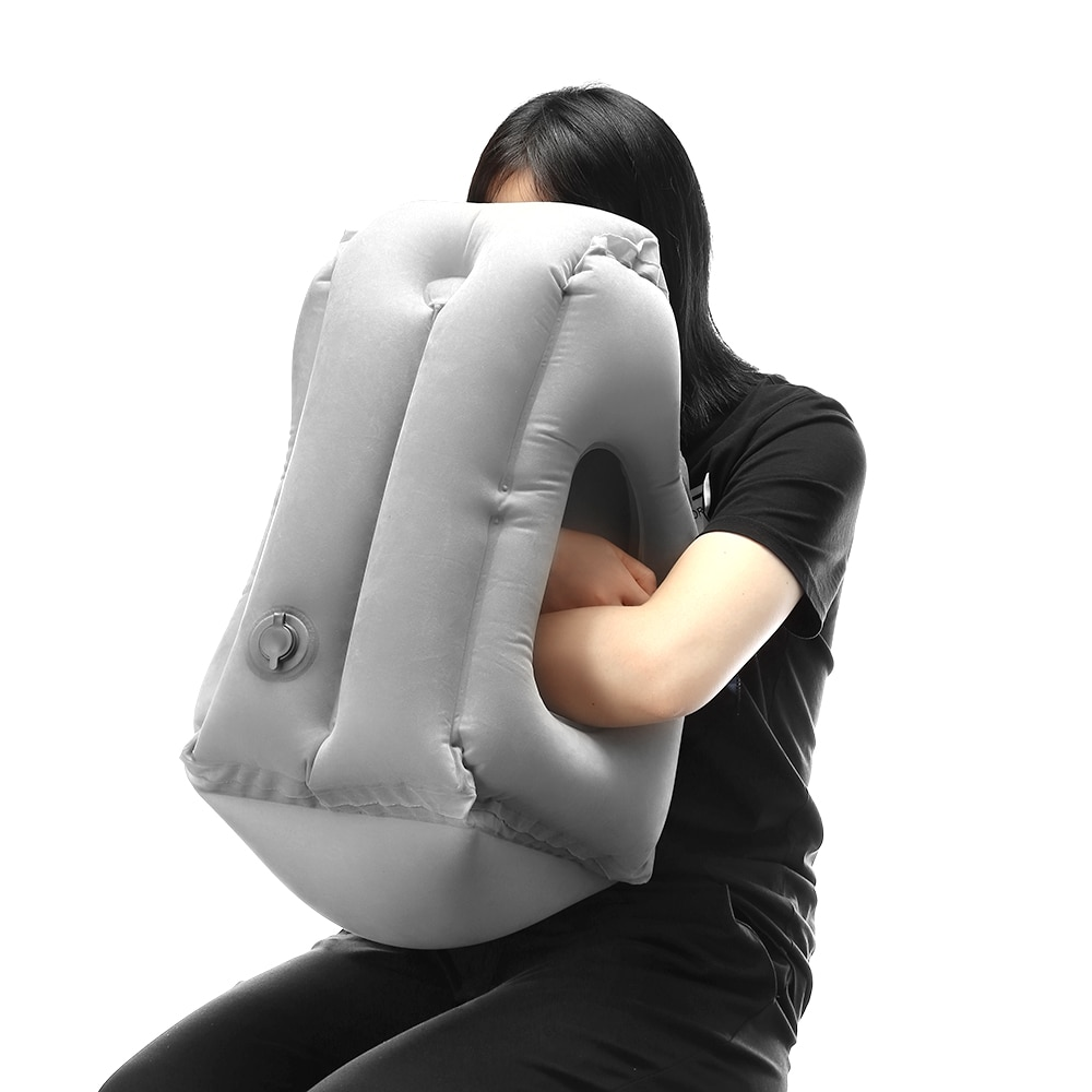 Frontal Inflatable Travel Pillow Life