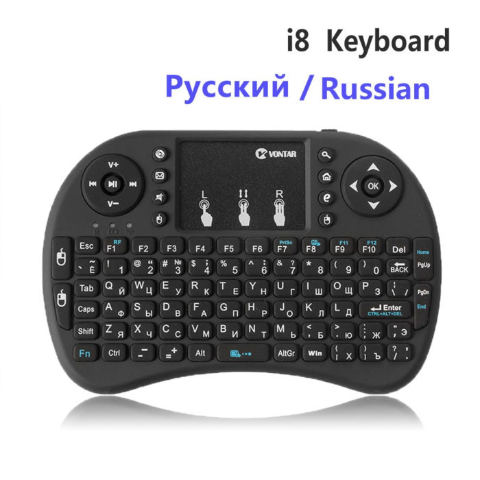 Handheld Mini Wireless Keyboard