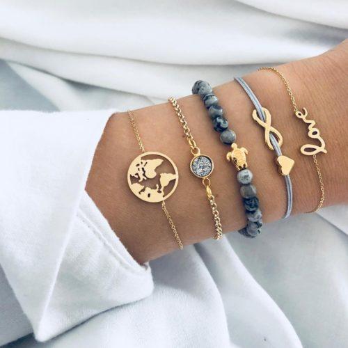Charm Bracelets Earth Lover