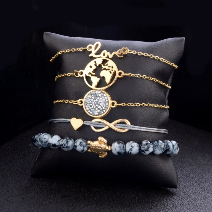 Charm Bracelets Earth Lover