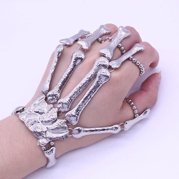 Finger Bracelet Skeleton Hand