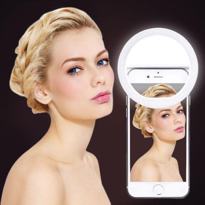 Ring Light Selfie Phone Attachment
