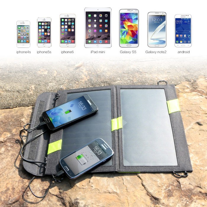 Solar Panels Hiking Power Bank