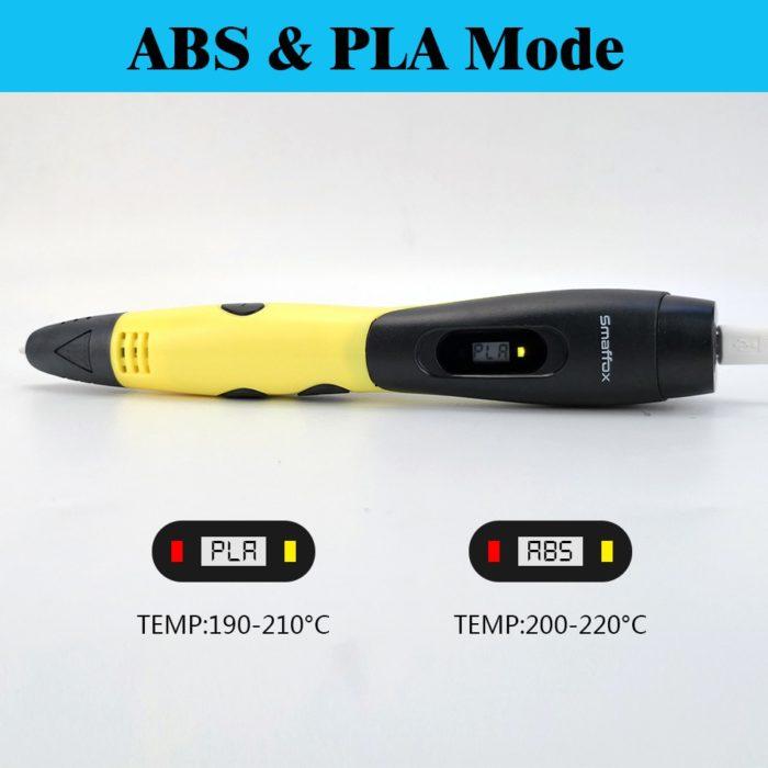 3D Pen ABS/PLA Printer
