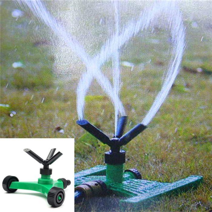 Lawn Sprinkler Garden Roller