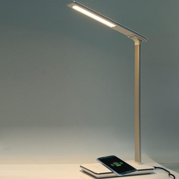 Desk Lamp Smartphone Charger