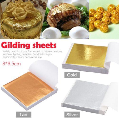 Gold Leaf Crafting Gilding Foil