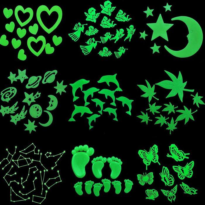 Star Ceiling Glow Stickers