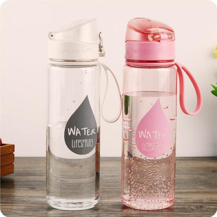 Plastic Water Bottle Leak Proof