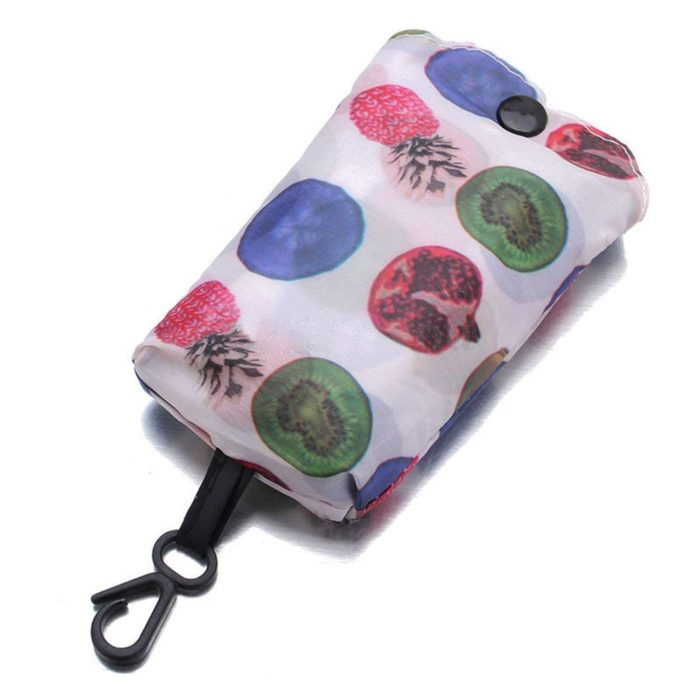 Tote Bag Foldable Carabiner Pouch