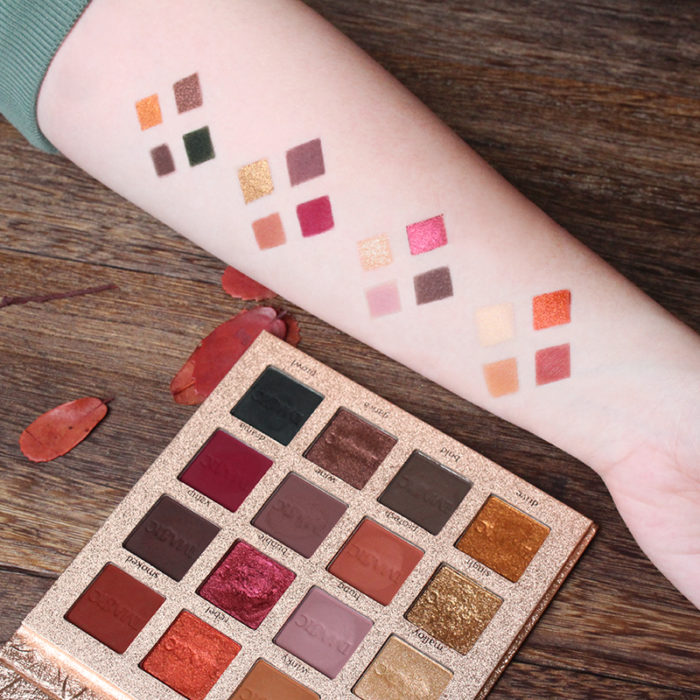 Eyeshadow Palette Matte and Shimmer