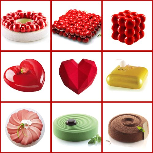 Silicone Cake Molds 3D Shapers