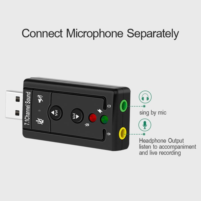 Sound Card USB Adapter