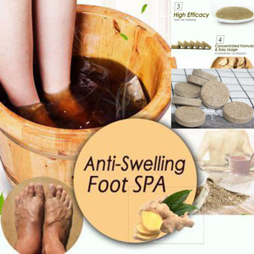 Foot Soak Ginger Spa Tablets