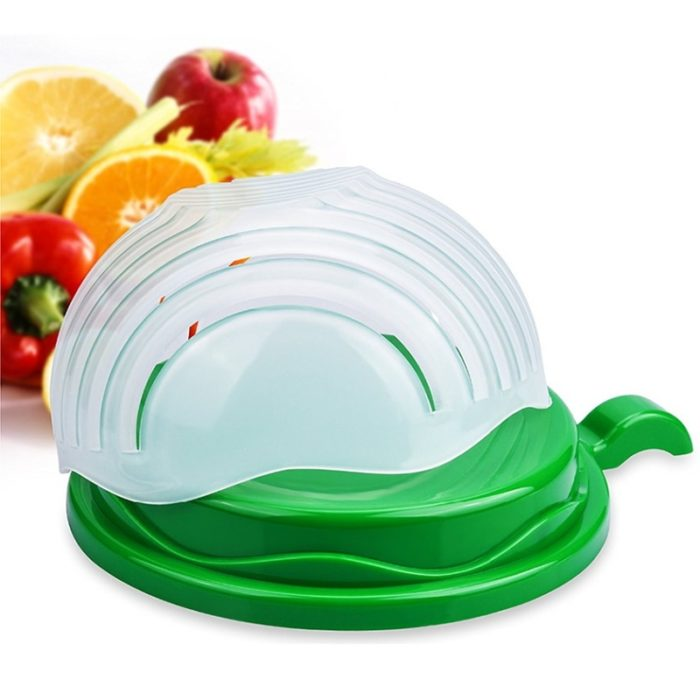 Salad Cutter Bowl Veggie Chopper