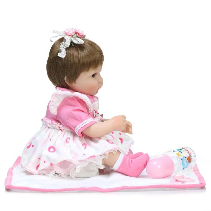 Reborn Baby Dolls Silicone Girl