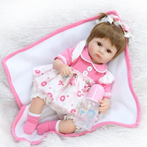 Reborn Baby Dolls Silicone Girl